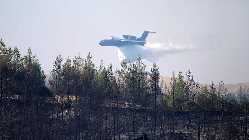 """""""Uçuş saati üzerinden para kazandıkları için yangınların sönmesi gecikiyor"""""""