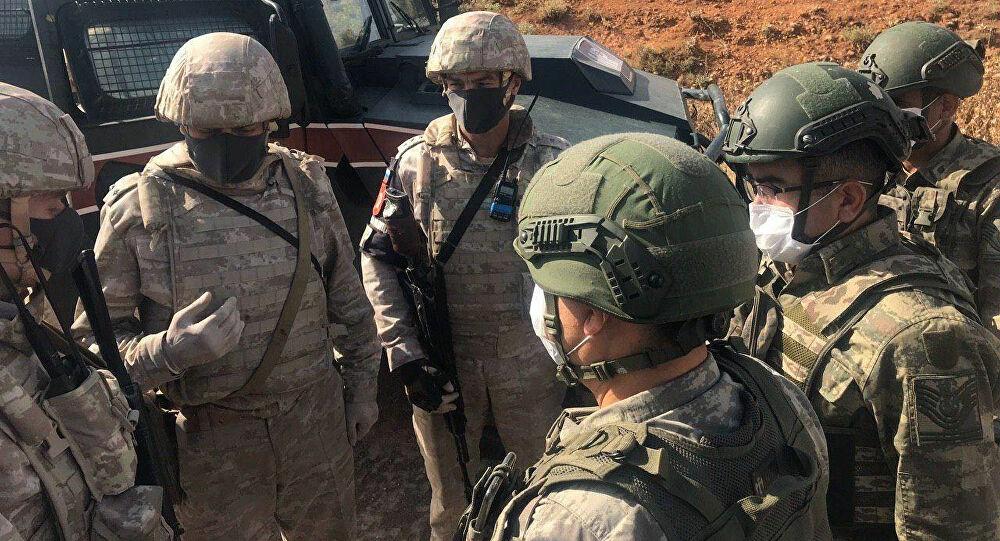 Rus ve Türk askerlerden İdlib'de ortak tatbikat