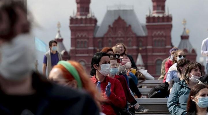 Rusya'da Kovid-19 vakası sayısı 800 bini geçti