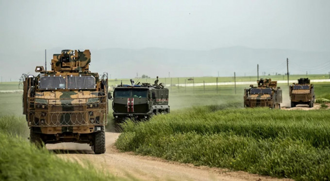 Rusya ve Türkiye'den Haseke'de ortak devriye