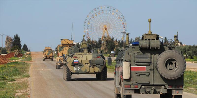 Rusya ve Türkiye'den İdlib'de ortak devriye