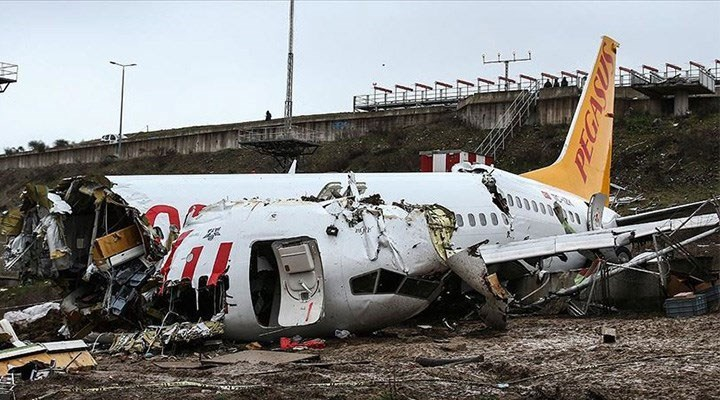 Sabiha Gökçen'deki uçak kazasına ilişkin bilirkişi raporu ortaya çıktı