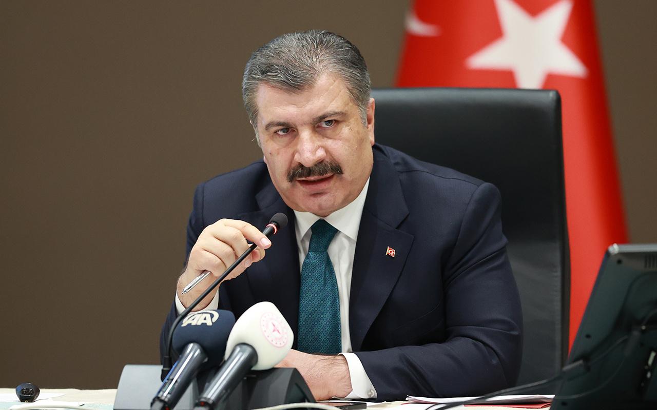 Sağlık Bakanı: Mavi il sayısı 23'e ulaştı