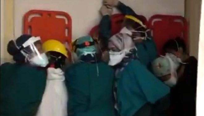 Sağlık çalışanlarına şiddette yeniden tutuklama kararı