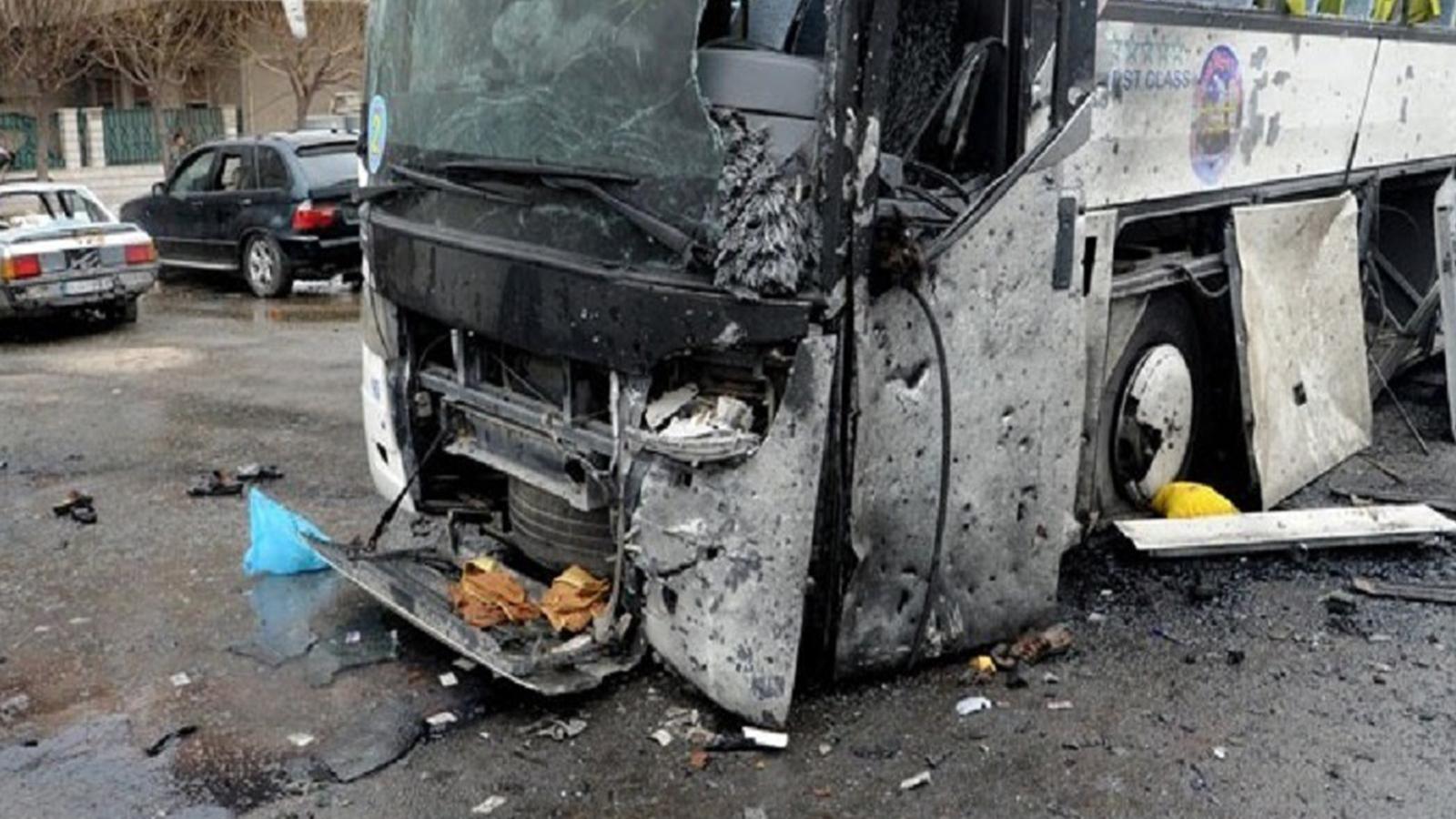Şam'da patlama: 13 kişi hayatını kaybetti