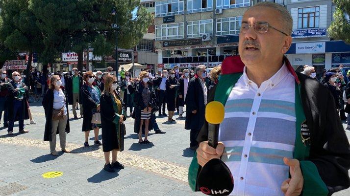 Samsun Baro Başkanı istifa etti
