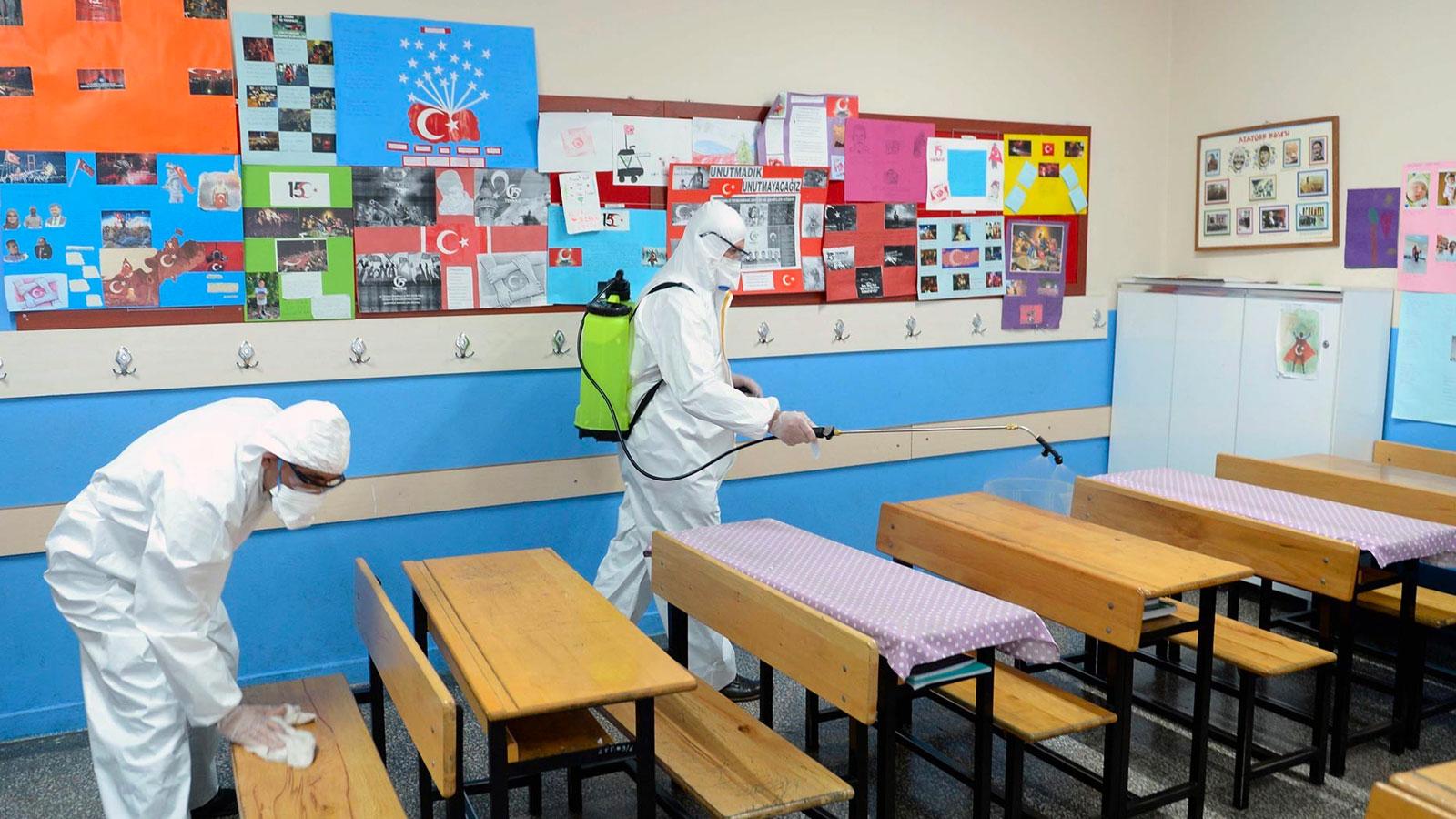 Samsun'da 240 öğrenci karantinaya alındı