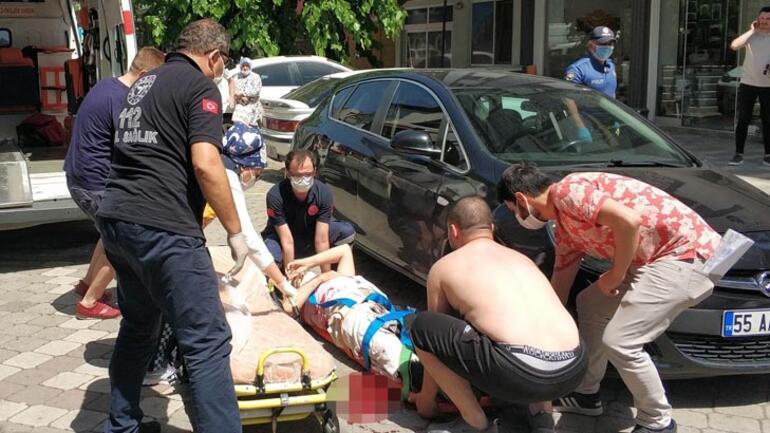 Samsun'da adliye çıkışı silahlı saldırı