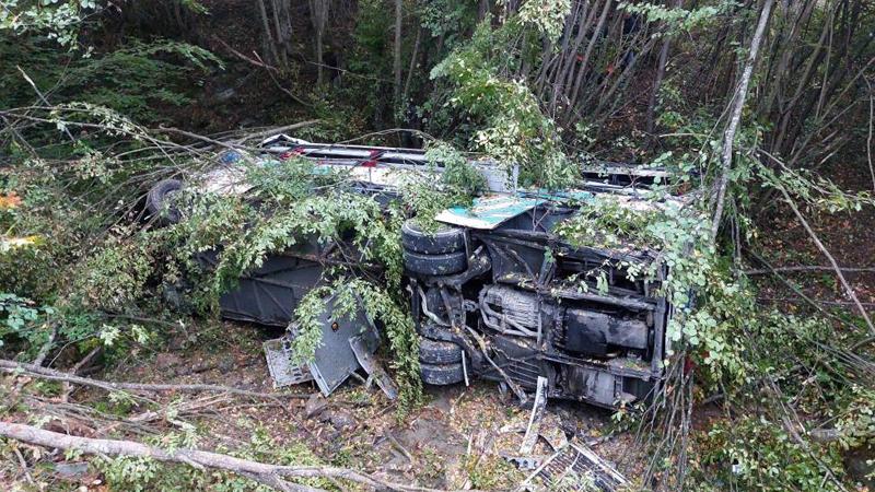Samsun'da yolcu otobüsü 150 metreden dereye yuvarlandı: 2 ölü, 15 yaralı