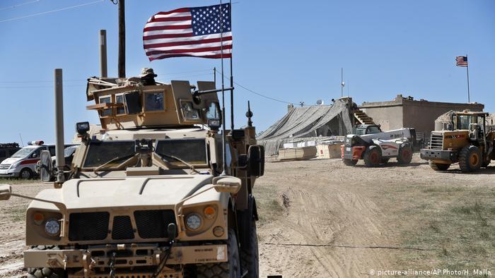 SANA: Suriye'de ABD ordusuna ait helikopter düştü