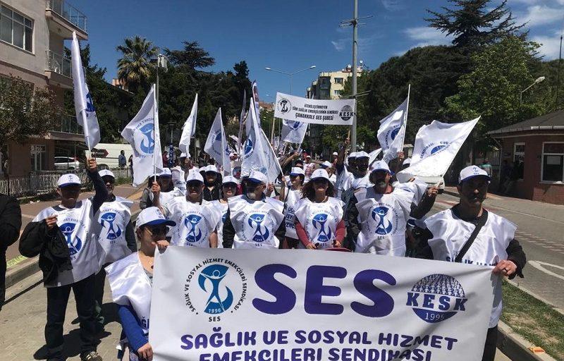 SES yöneticilerine ve çok sayıda üyesine gözaltı