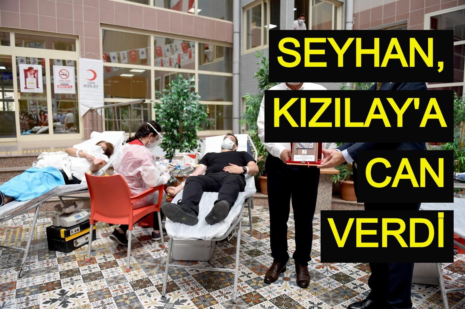 Seyhan, Kızılay'a can verdi