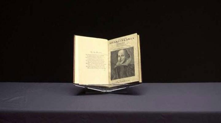 Shakespeare'in kitabı rekor fiyata satıldı
