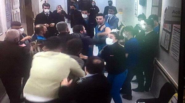 Sivas'ta hasta yakınlarından sağlık çalışanlarına saldırı