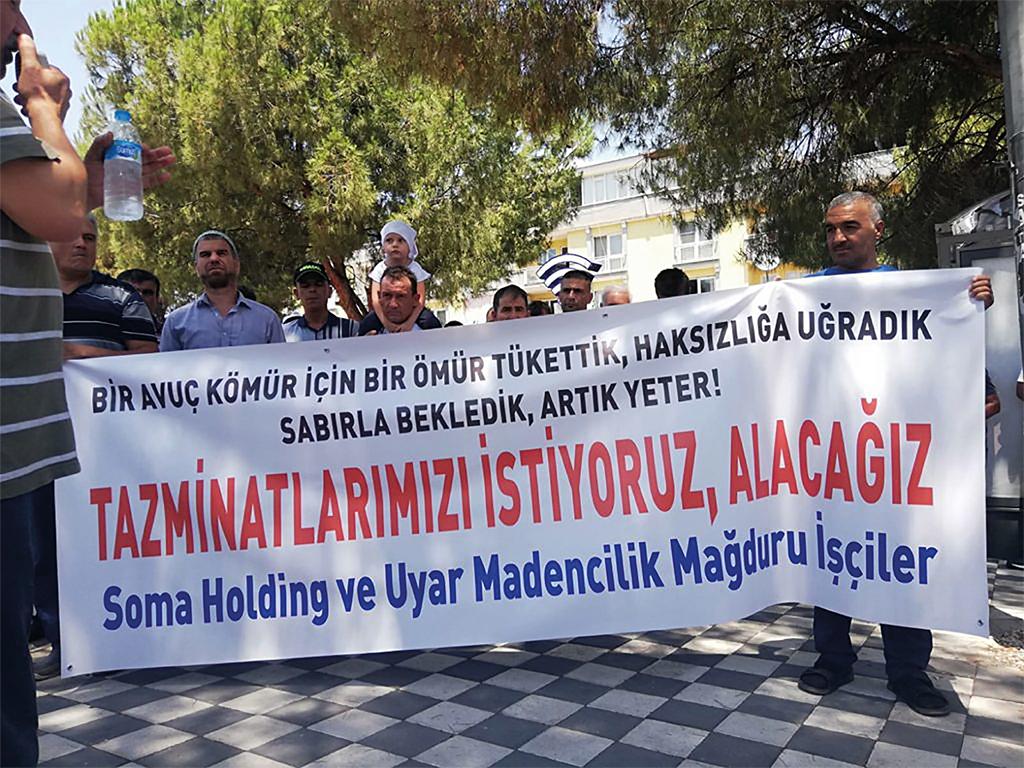 Soma maden işçileri Ankara'ya yürüyecek