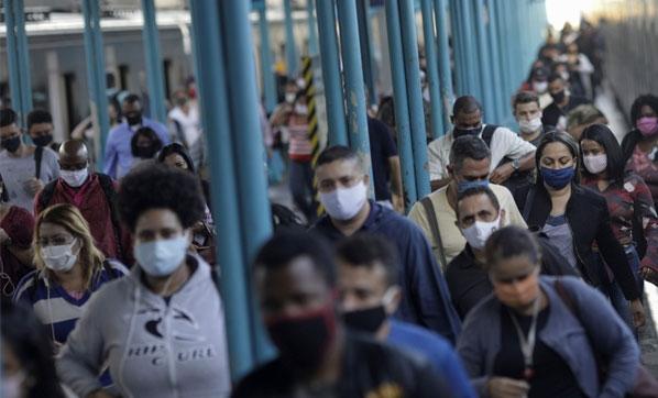 Son 24 saatte Brezilya'da 990, Meksika'da 719 kişi yaşamını yitirdi