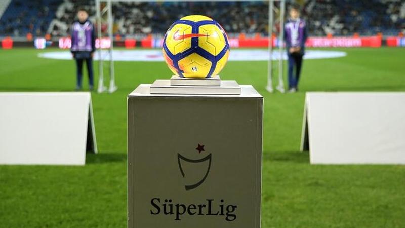 Süper Lig'de 34. hafta programı belli oldu
