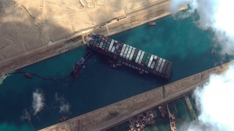 Süveyş Kanalı'nı tıkayan gemi kurtarıldı