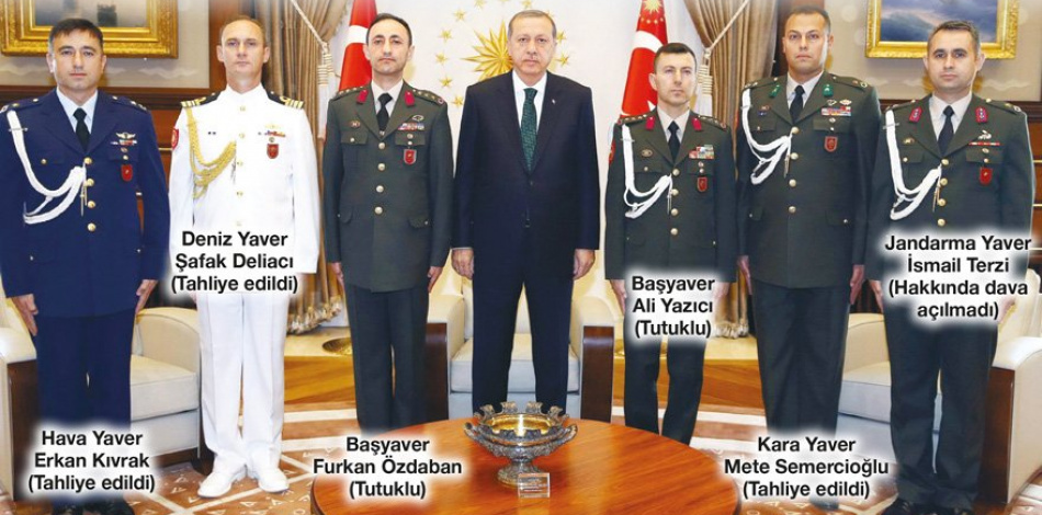 Tahliye edilen Cumhurbaşkanı yaverlerinin avukatları Vatan Partili çıktı