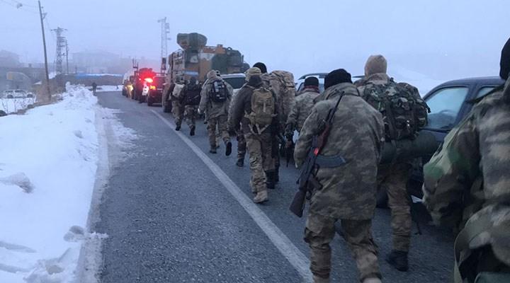 Tatvan'da askeri helikopter düştü: 11 asker şehit, 3 asker yaralı