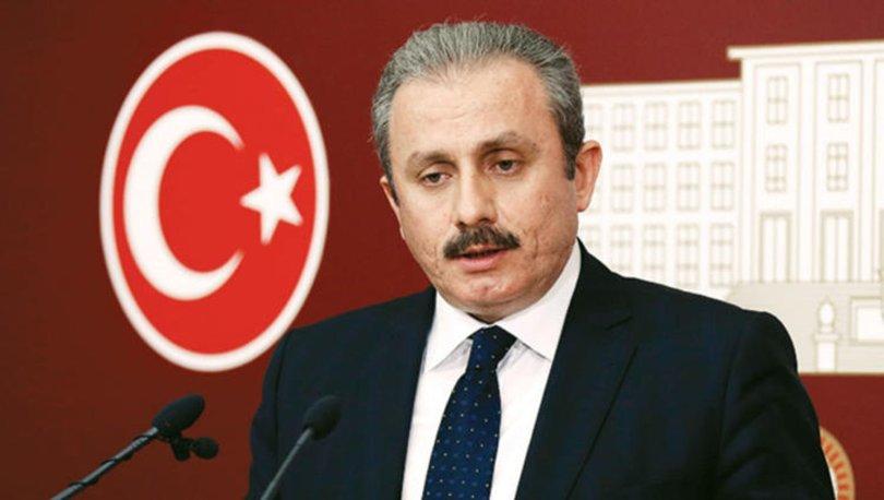 TBMM Başkanı Mustafa Şentop'tan erken seçim açıklaması