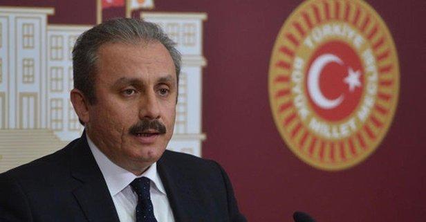 TBMM Başkanı Şentop'tan Enis Berberoğlu açıklaması