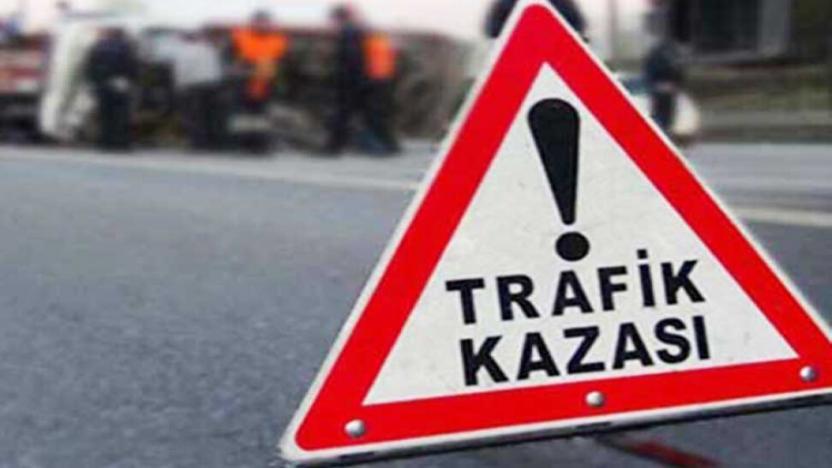 Tekirdağ'da işçi servisi devrildi: 2 yaralı