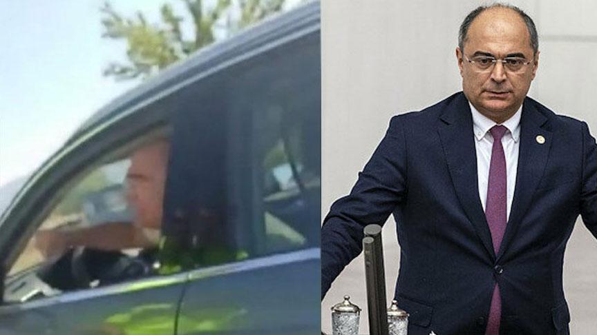 Trafik polisi ile tartışan CHP'li Turan Aydoğan özür diledi