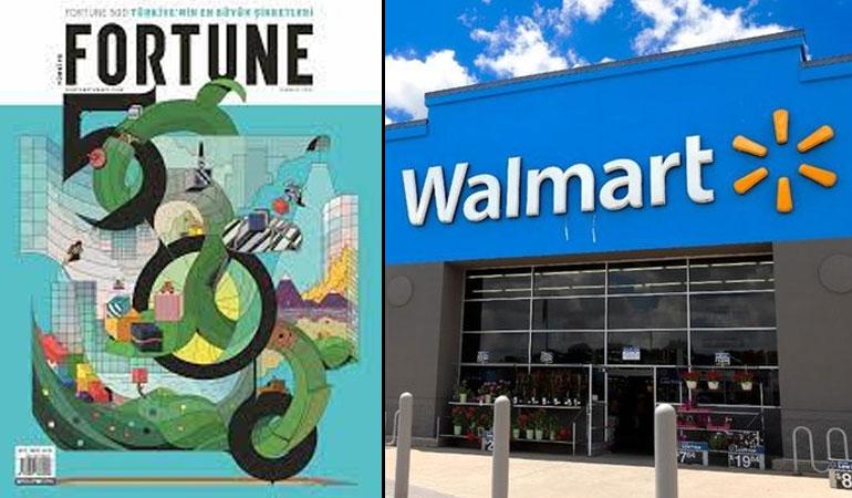 Trükiye'nin en büyük 500 şirketi yarım Walmart etmedi!