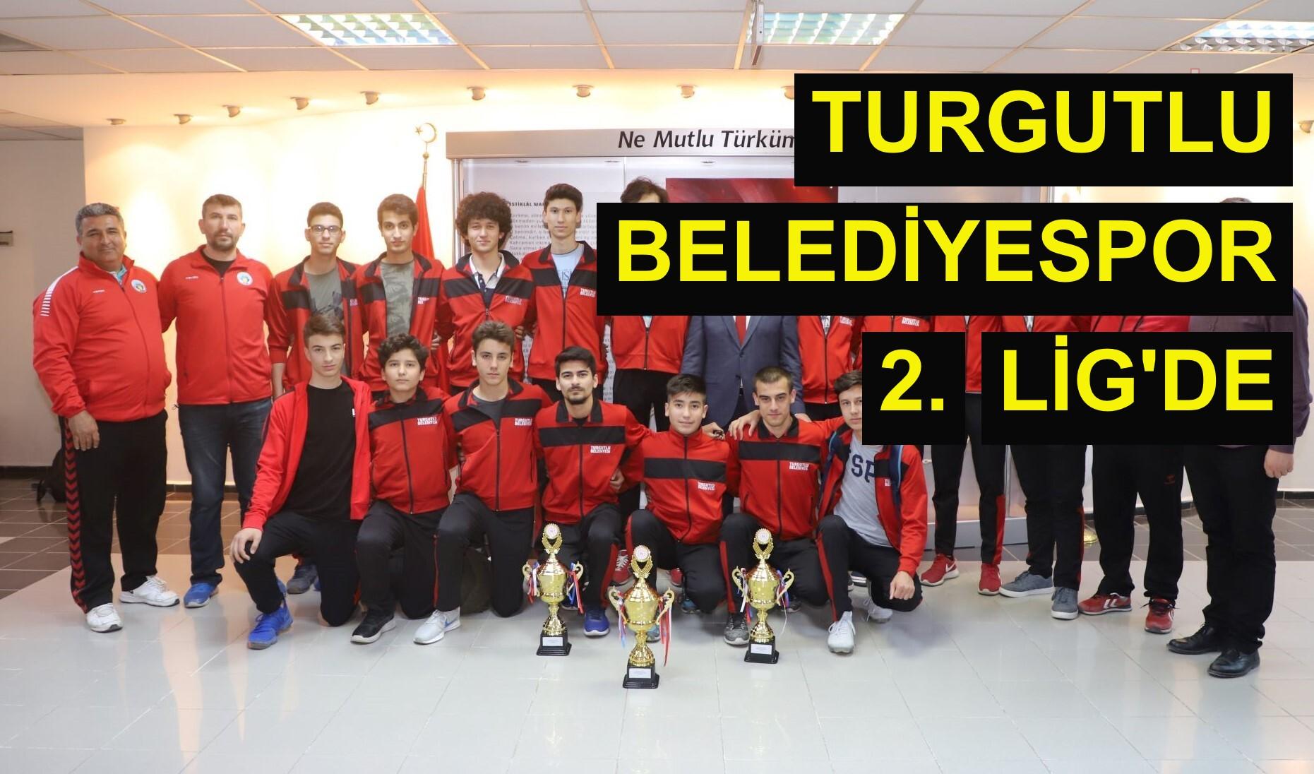 Turgutlu Belediyespor 2. Lig'de