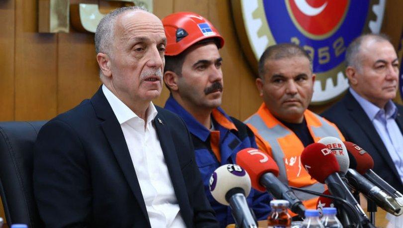 Türk-İş'ten asgari ücret açıklaması: 3 bin liranın altındaki teklif, insanları mutlu etmez