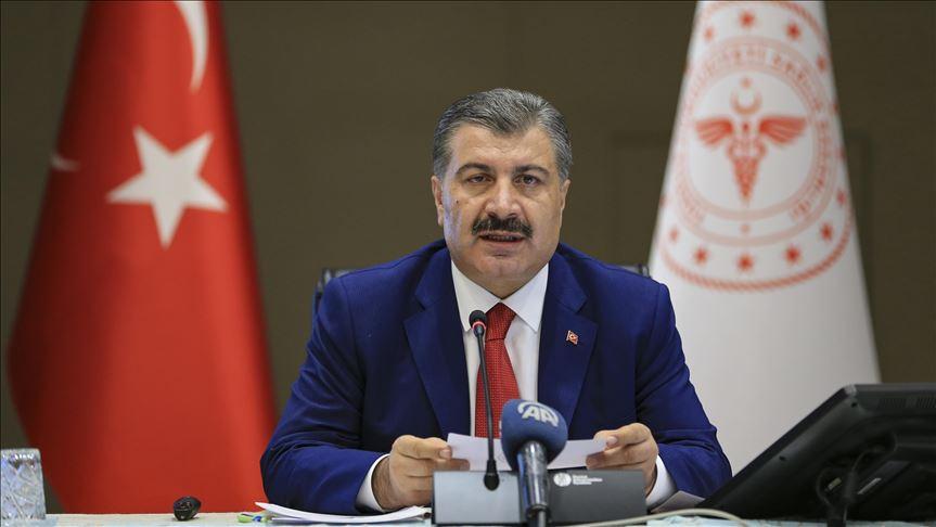 Türkiye'de koronavirüsten 74 kişi daha hayatını kaybetti