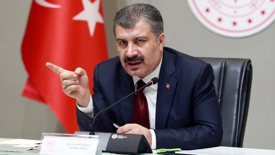 Türkiye'de koronavirüsten can kaybı 5 bin 873'e yükseldi