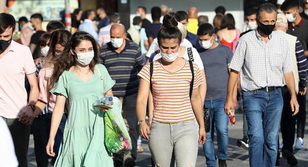 Türkiye'de son 24 saatte koronavirüsten 341 can kaybı, 40 bin 444 yeni vaka