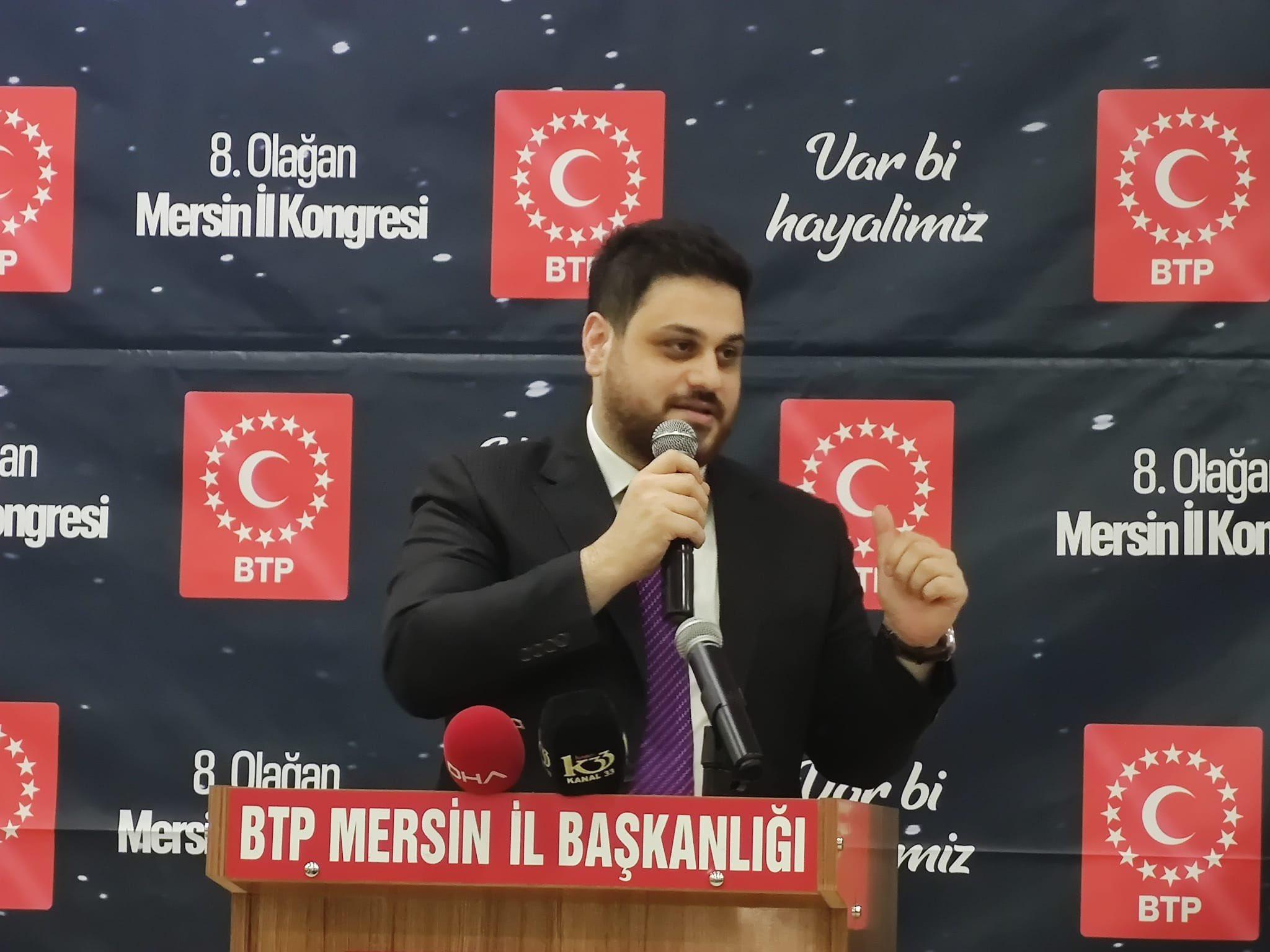 Türkiye'nin en genç lideri Baş: Ali'nin yolundayız