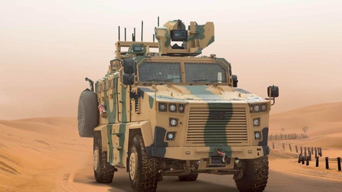 Türkiye, Somali ordusuna 22 zırhlı personel taşıyıcı hibe etti