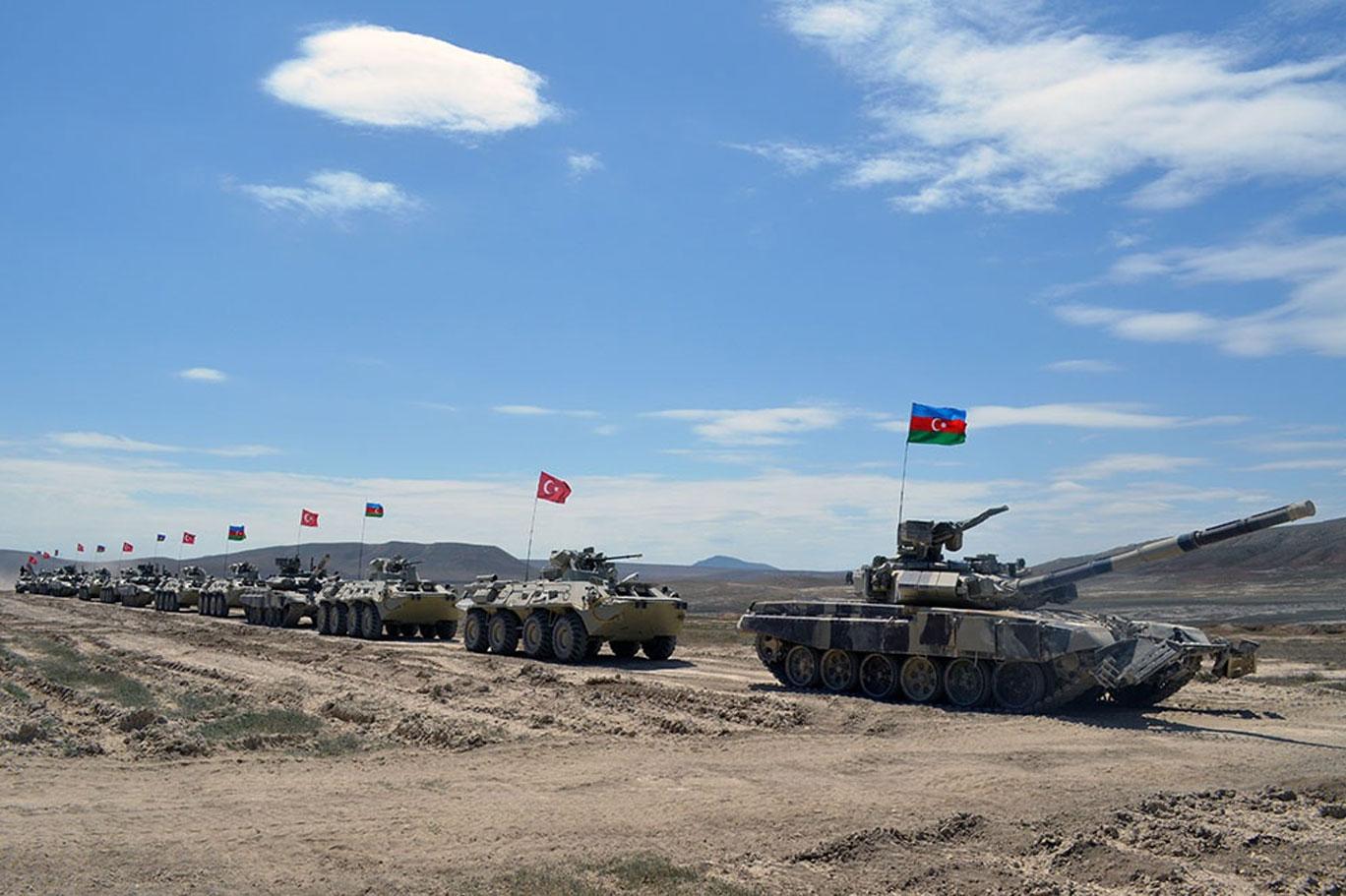 Türkiye ve Azerbaycan ordularından ortak tatbikat: Mustafa Kemal Atatürk 2021