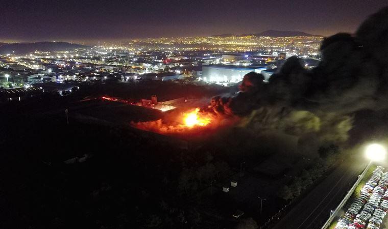 Tuzla'da fabrika yangını: 2 kişi hayatını kaybetti