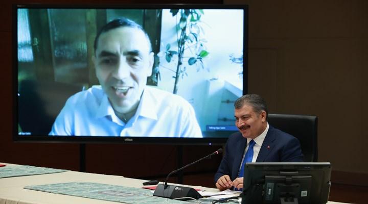 Uğur Şahin: Türkiye için 120 milyon dozu tamamlamak istiyoruz