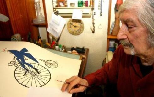 Ünlü karikatürist Turhan Selçuk Google'da Doodle oldu