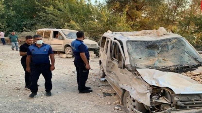 Urfa'da heyelan: 2'si ağır 3 yaralı