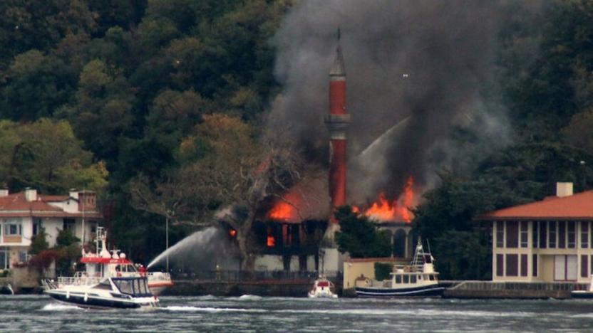 Vaniköy Cami yangınında 'bilirkişi raporu' açıklandı