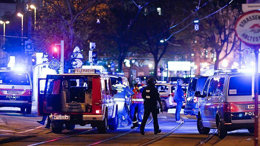 Viyana'da terör saldırısı: 12 ölü, çok sayıda yaralı