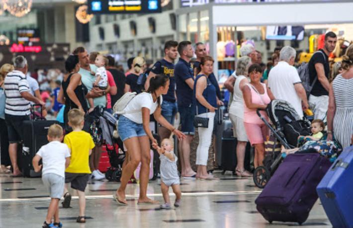 Yabancı ziyaretçi sayısı 7 ayda yüzde 78 azaldı