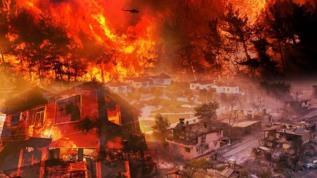 Yangınlardaki son durum açıklandı: 6 günde 154 yangın