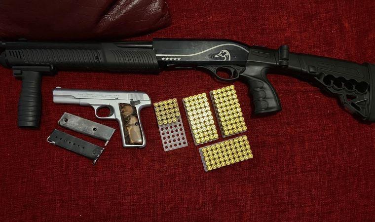 Yasa dışı silah ticareti yapanlara yönelik operasyon: 3 gözaltı