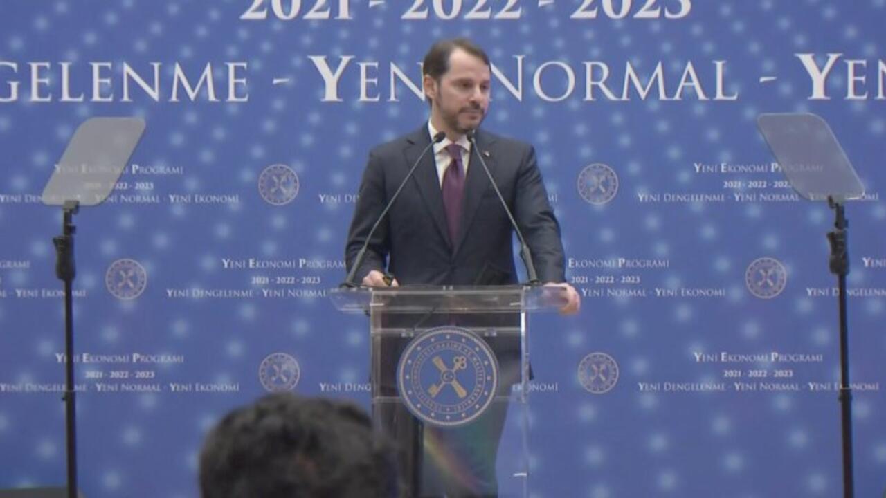 Yeni Ekonomi Programı'nı açıklayan Albayrak: Üç tema belirlendi, yeni dengelenme, yeni normal, yeni ekonomi