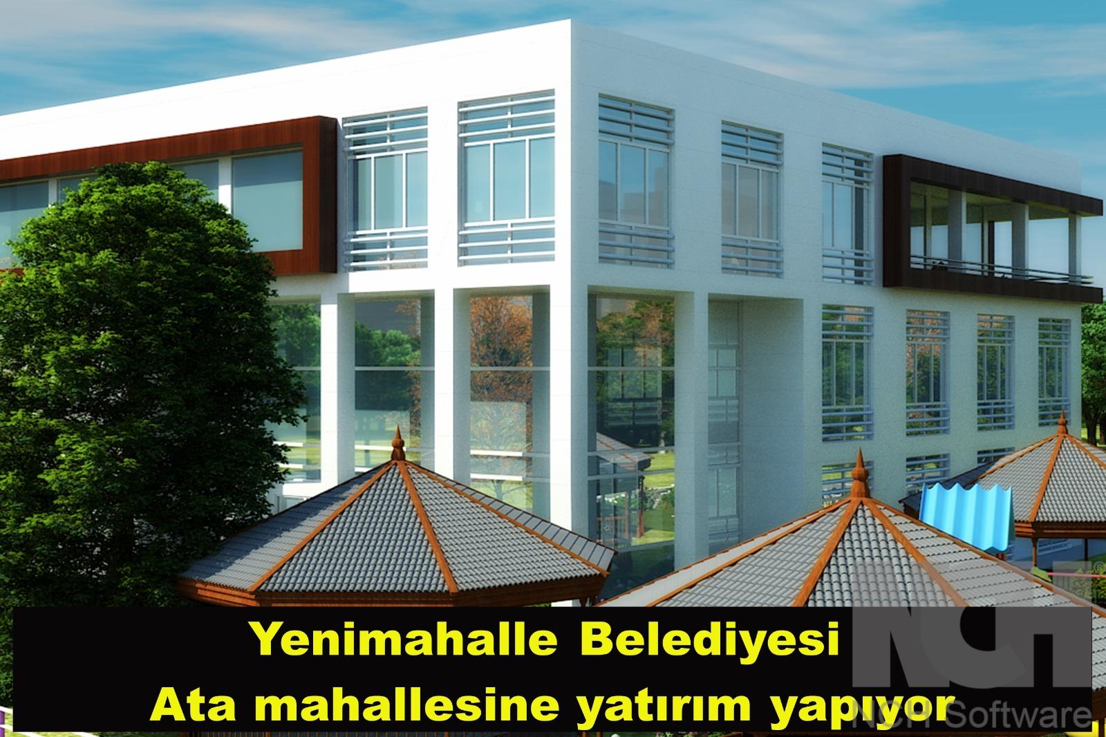 Yenimahalle Belediyesi, Ata Mahallesi'ne yatırım yapıyor