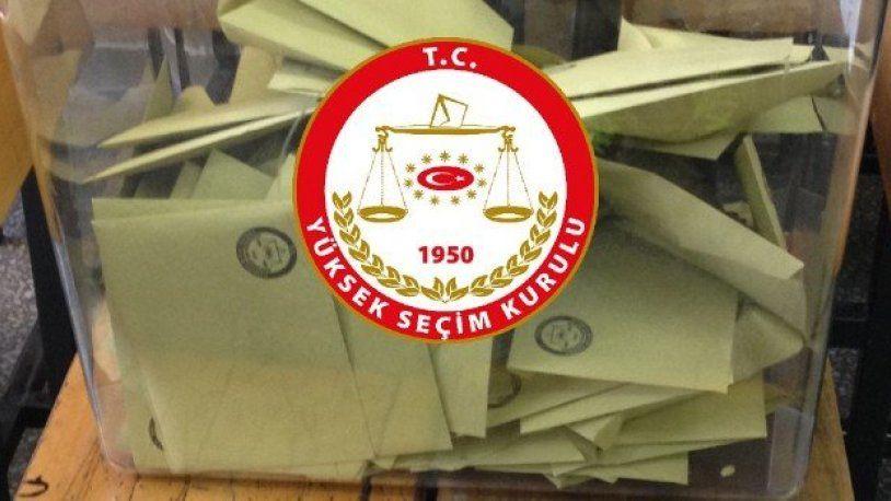 YSK'dan seçime girebilecek partiler kararı