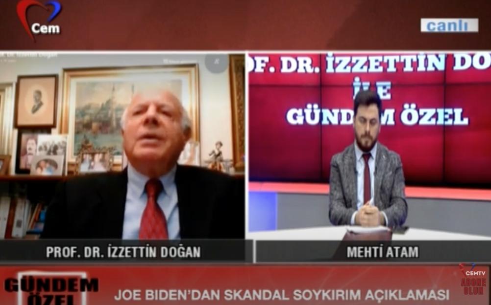 1915 Olayları ve Joe Biden'in Açıklamaları | Prof. Dr. İzzettin Doğan ile Gündem Özel